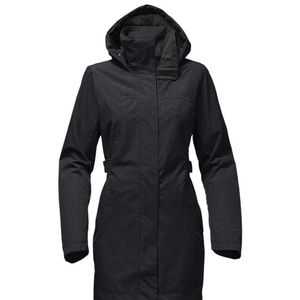 Womens North Face Laney Trench II Coat Sz XS